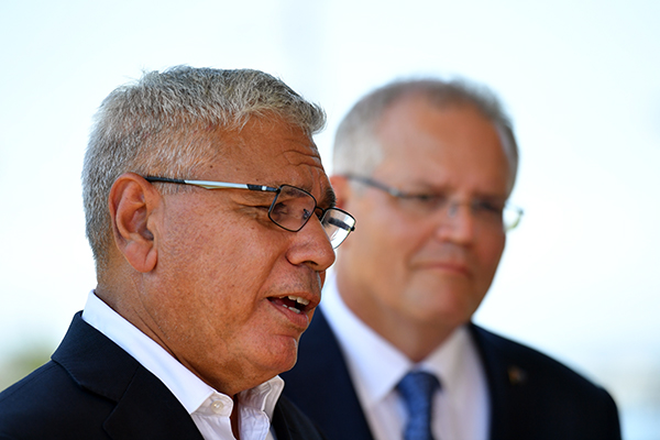 Article image for Warren Mundine admits he was talked into entering politics by Prime Minister