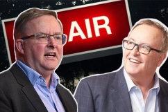 Anthony Albanese clashes with callers over franking credits