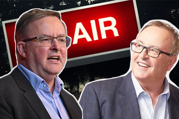 Article image for Anthony Albanese clashes with callers over franking credits