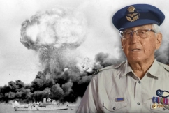 'Tattooed onto my brain': Final RAAF survivor relives the Bombing of Darwin