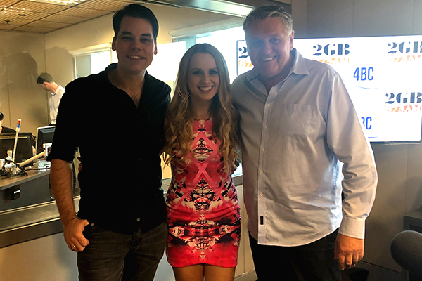 Article image for LISTEN   Country musician Christie Lamb performs new single