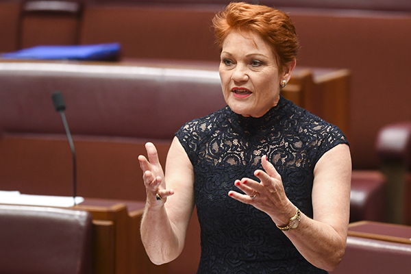 Article image for Pauline Hanson calls for entire $4.2b foreign aid budget to be redirected