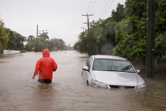 Queensland floods: One resident takes to rescuing locals as water levels peak