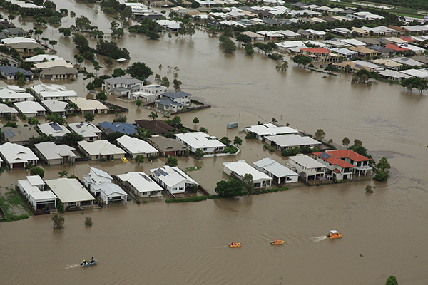 Article image for Townsville floods: Bodies of two men found in stormwater drain