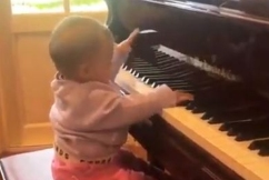 WATCH | Ray's baby granddaughter Ava playing piano