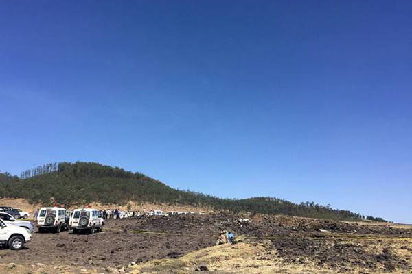Article image for No survivors: 157 killed in Ethiopian Airlines crash