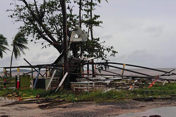 Article image for Cruel twist as Far North QLD flood victims hit by Cyclone Trevor