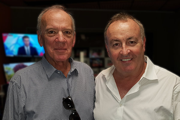 Article image for Chris Smith and Ray Martin pay tribute to TV 'legend' Mike Willesee
