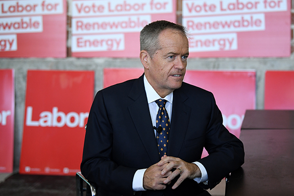 Article image for Bill Shorten to announce Labor's climate change policy