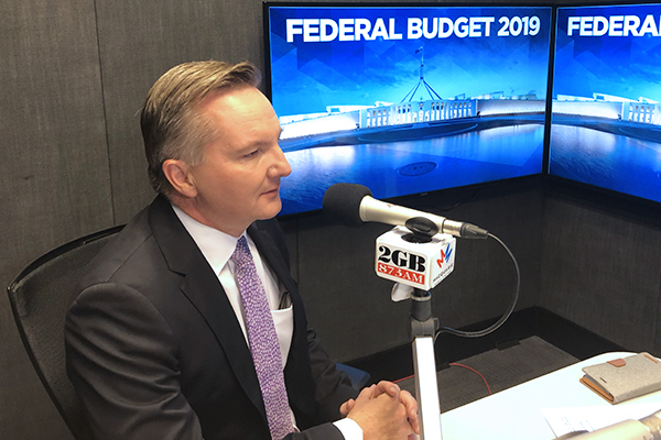 Article image for 'If this is their re-election pitch, it's a very underwhelming one': Shadow Treasurer responds