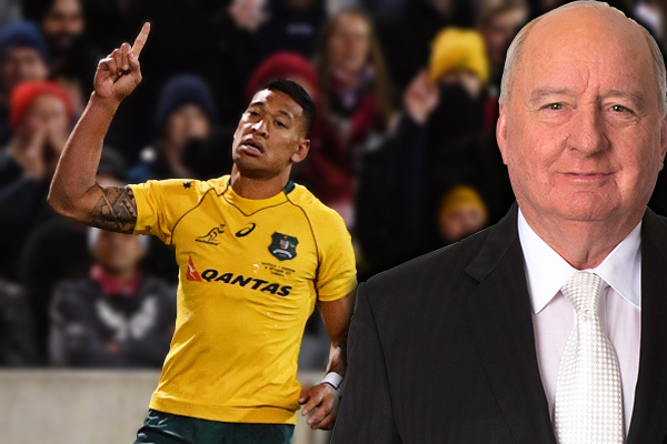Article image for Alan Jones condemns Rugby Australia over Israel Folau sacking… here's why