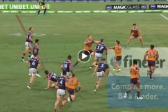 Is this one of the greatest tries in NRL history?