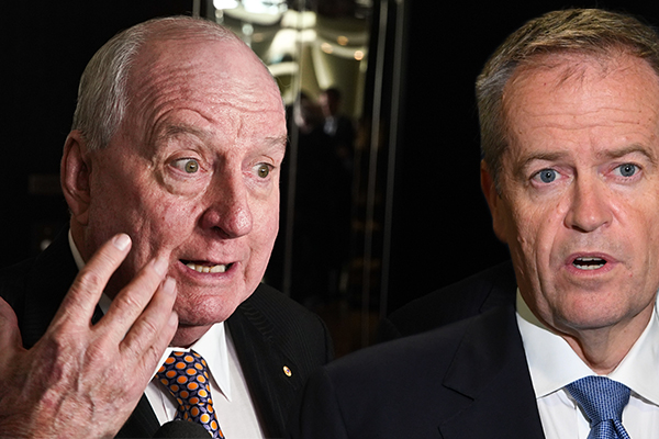 Article image for 'Cancer scam': Alan Jones slams Bill Shorten's 'ludicrous' cancer policy