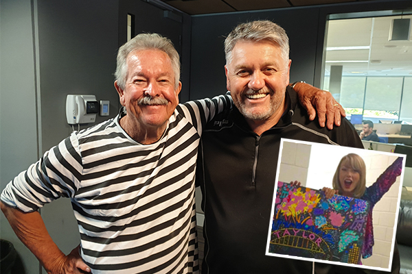 Article image for Iconic artist Ken Done reveals his connection to Taylor Swift