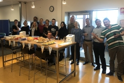 The 4BC team hosts their own Biggest Morning Tea