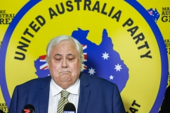 Clive Palmer volunteer allegedly exposes himself at school polling booth