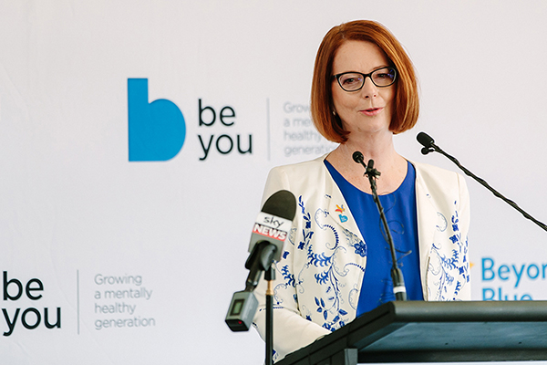 Article image for 'We need to do better to support men': Julia Gillard's suicide prevention message