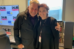 The emotional interview that brought Ray Hadley to tears