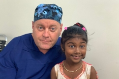 850th Fijian patient operated on by phenomenal Aussie surgeon