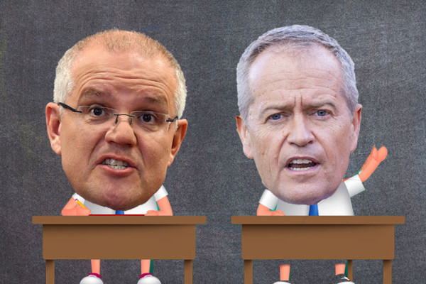 Article image for Election 2019: The Morrison/Shorten report card — Week 3