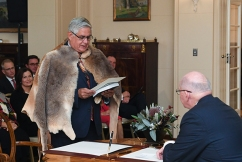 First Aboriginal Cabinet minister doesn't support changing the national anthem