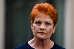 Pauline Hanson says strip club video release was 'a set-up'