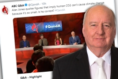 Alan Jones hits back at Q&A climate change attack