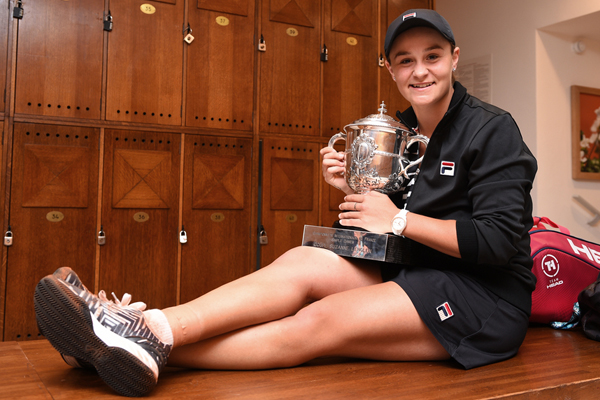 Article image for The motto that proves Ash Barty is the tennis star Australia's been waiting for