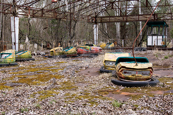 Article image for Chernobyl: The city 'frozen in time'