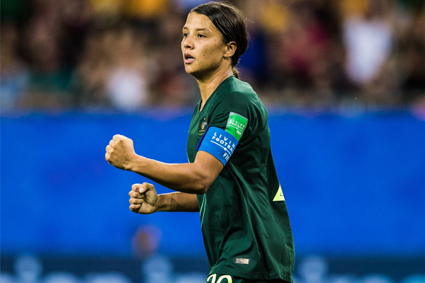 Article image for Matildas Masterclass   Sam Kerr guides Australia into World Cup knockout stage