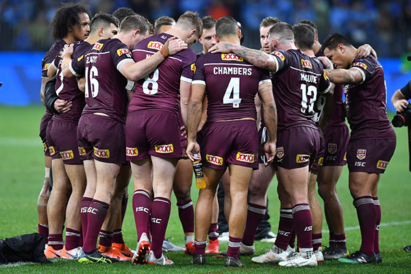 Article image for New South Wales levels the State of Origin series