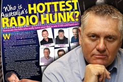 Ray Hadley's bizarre plan of attack for the 'Hottest Radio Hunk' awards