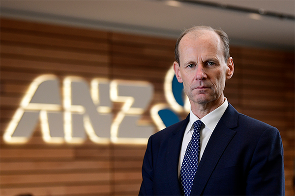 Article image for ANZ CEO defends not passing full interest rate cut
