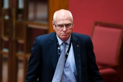 Jim Molan concedes defeat in the Senate