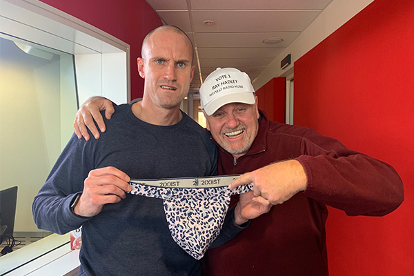 Article image for Ray Hadley and Fitzy battle it out in a 'Sexy Off'