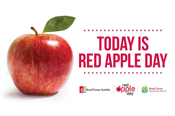 Article image for Aussies encouraged to take the test this Red Apple Day