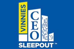 'We need to change': Vinnies CEO Sleepout addresses homelessness