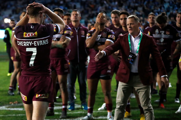 Article image for HEARTBREAK | Maroons come up short in thrilling State of Origin decider