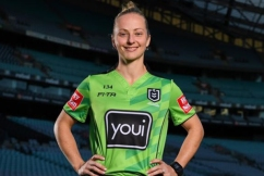 NRL's first female referee ready to make history