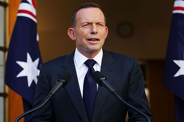 Article image for Calls for statue of Tony Abbott to be erected