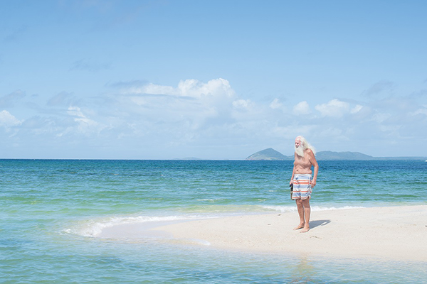 Article image for From rat race to paradise: How moving to a deserted island saved a former millionaire