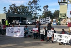 Calls to get tough with Anti-Adani protesters