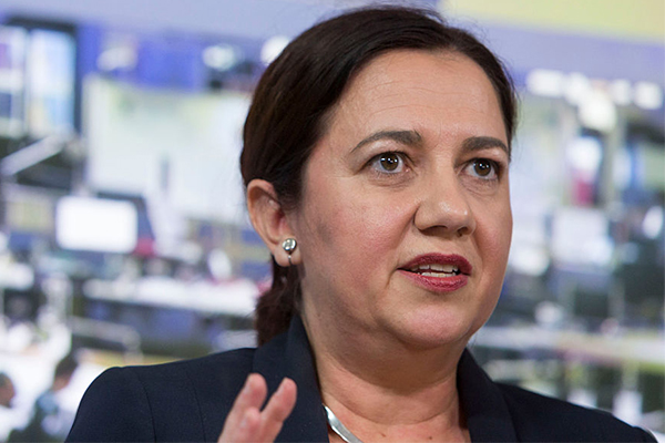 Article image for Premier Palaszczuk responds to Brisbane CBD protests