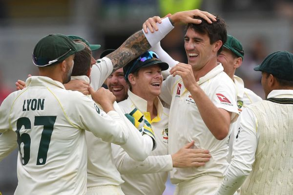 Article image for Aussies draw first blood in the Ashes, breaking 18-year hoodoo