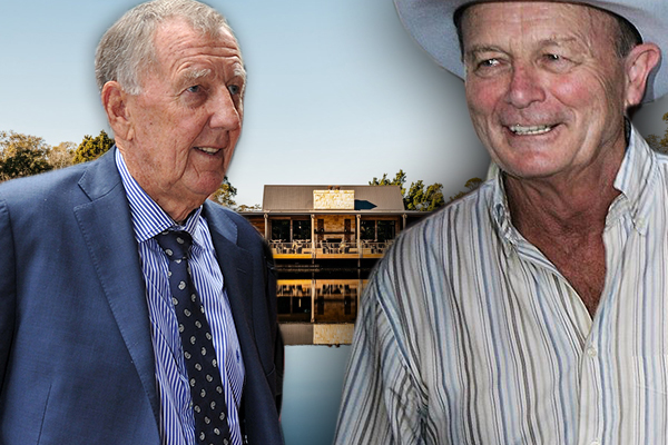 Article image for Singo and Gerry Harvey are inviting you to lunch… but it comes at a cost