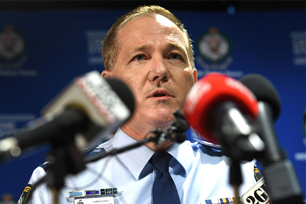 Article image for 'Despicable criminal': Police Commissioner says no terrorism link in CBD attack