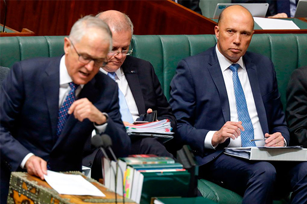 Article image for Peter Dutton has 'no regrets' one year after challenging Turnbull