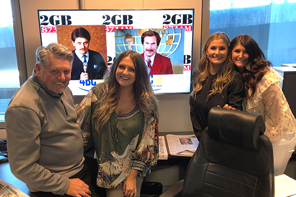 Article image for The McClymonts' hilarious reaction to Ray Hadley's old look