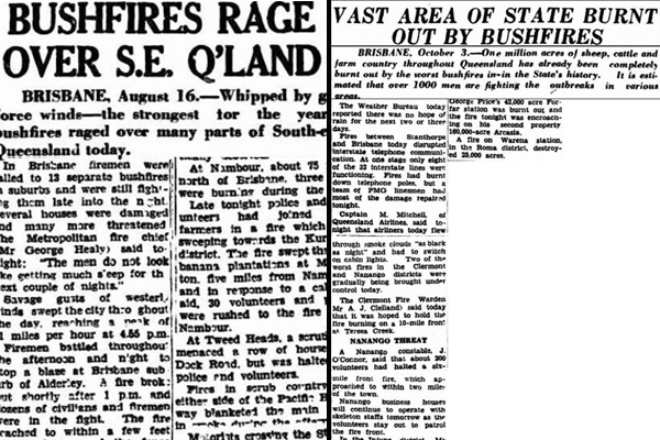 Article image for 1950s articles show severe bushfires are NOT a new phenomenon