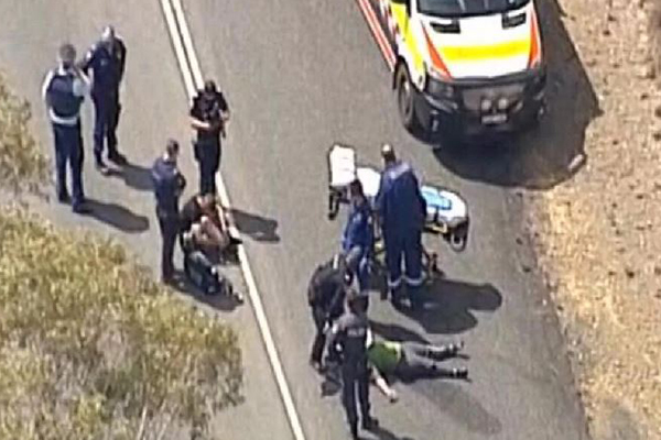 Article image for Shots fired: Helicopter flying farmer leads police in 400km pursuit
